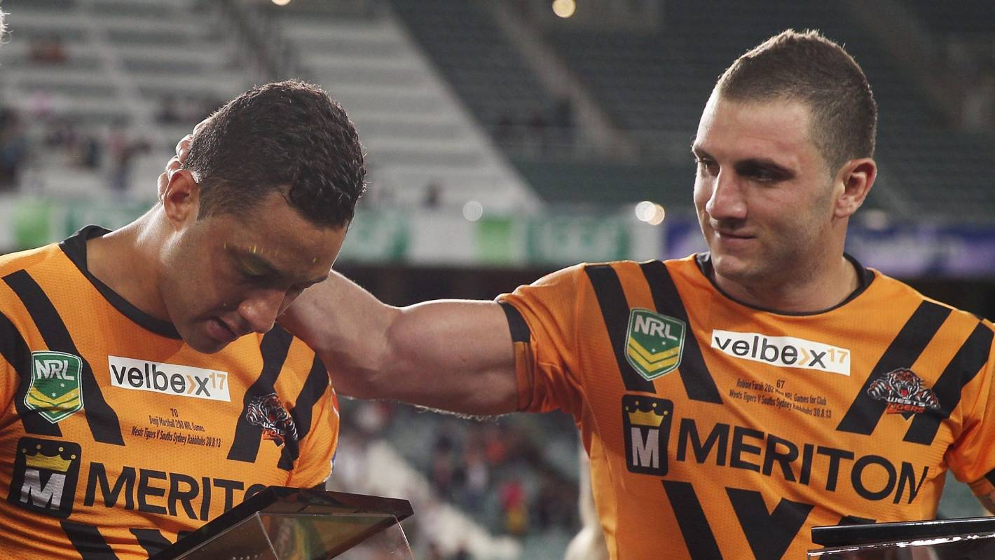 NRL: Robbie Farah pays tribute to Benji Marshall ahead of 300-game milestone