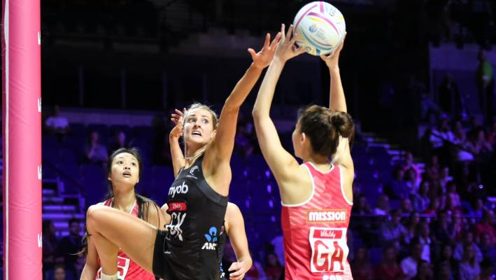 Netball World Cup: Silver Ferns crush Singapore in final