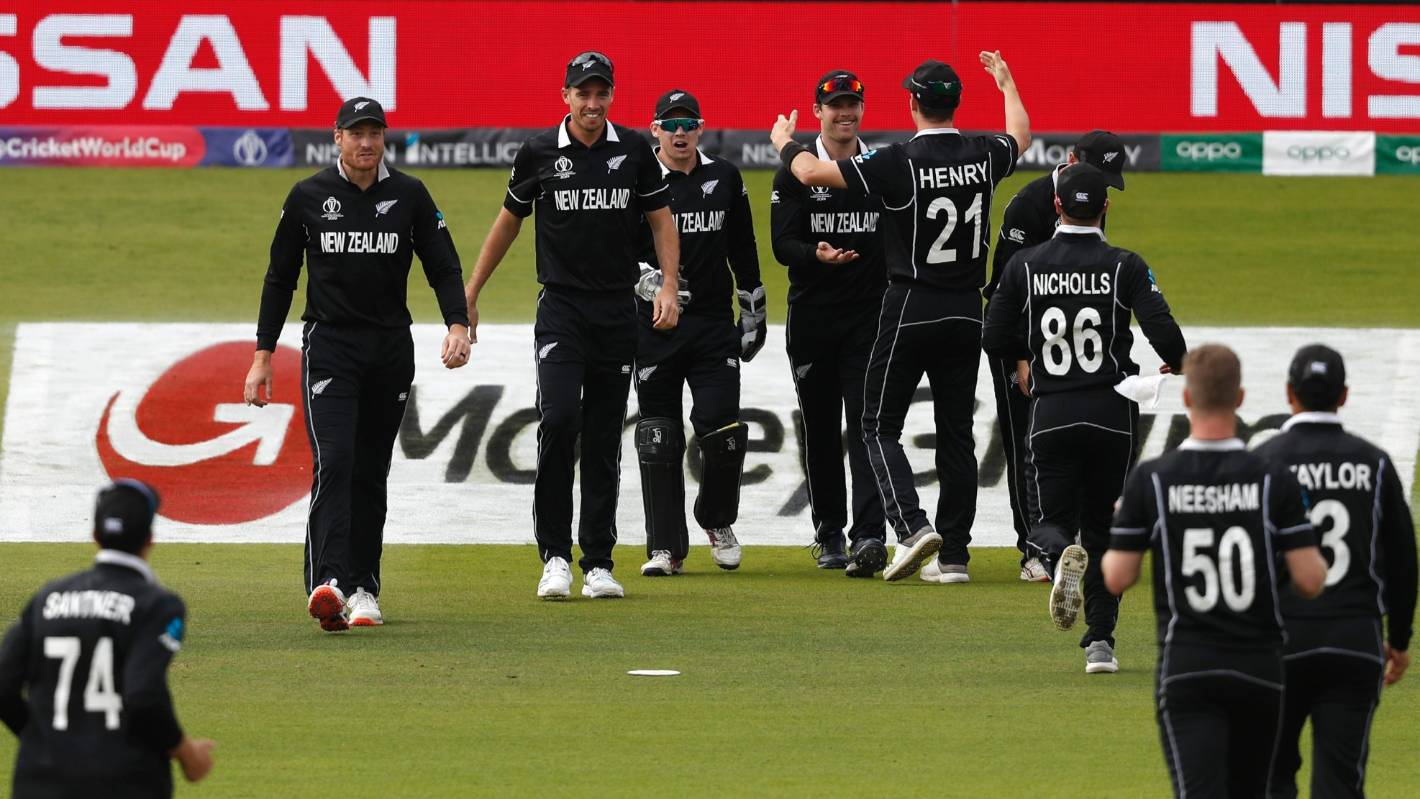 Cricket World Cup final: Black Caps homecoming on hold