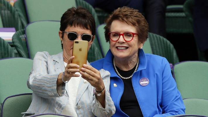 "Tennis legend Billie Jean King (right) and the women's breakaway tour came with a slogan ""You've come a long way baby"". But have we really?"