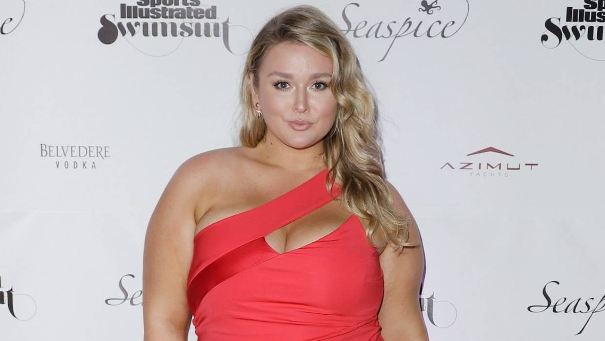 Hunter McGrady: 'Not all plus-size women are ashamed of their bodies