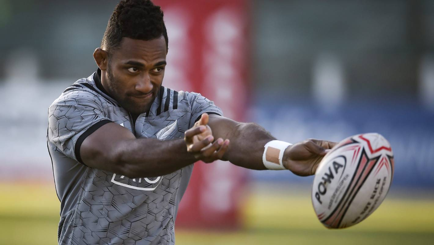 All Blacks: Wing Sevu Reece fast-tracked to start Rugby Championship match against Pumas