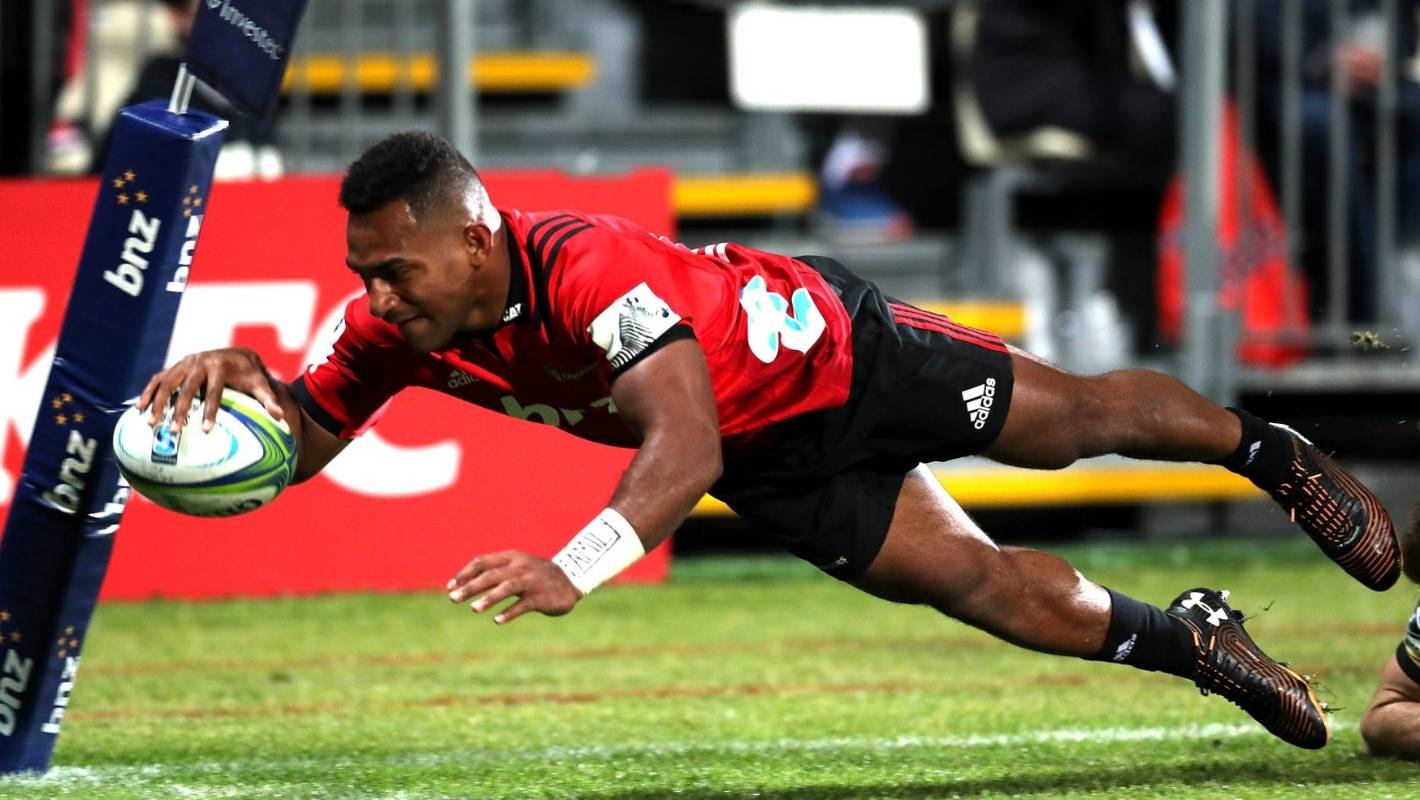 Sevu Reece following in the footsteps of Fijian flyers who starred for the All Blacks