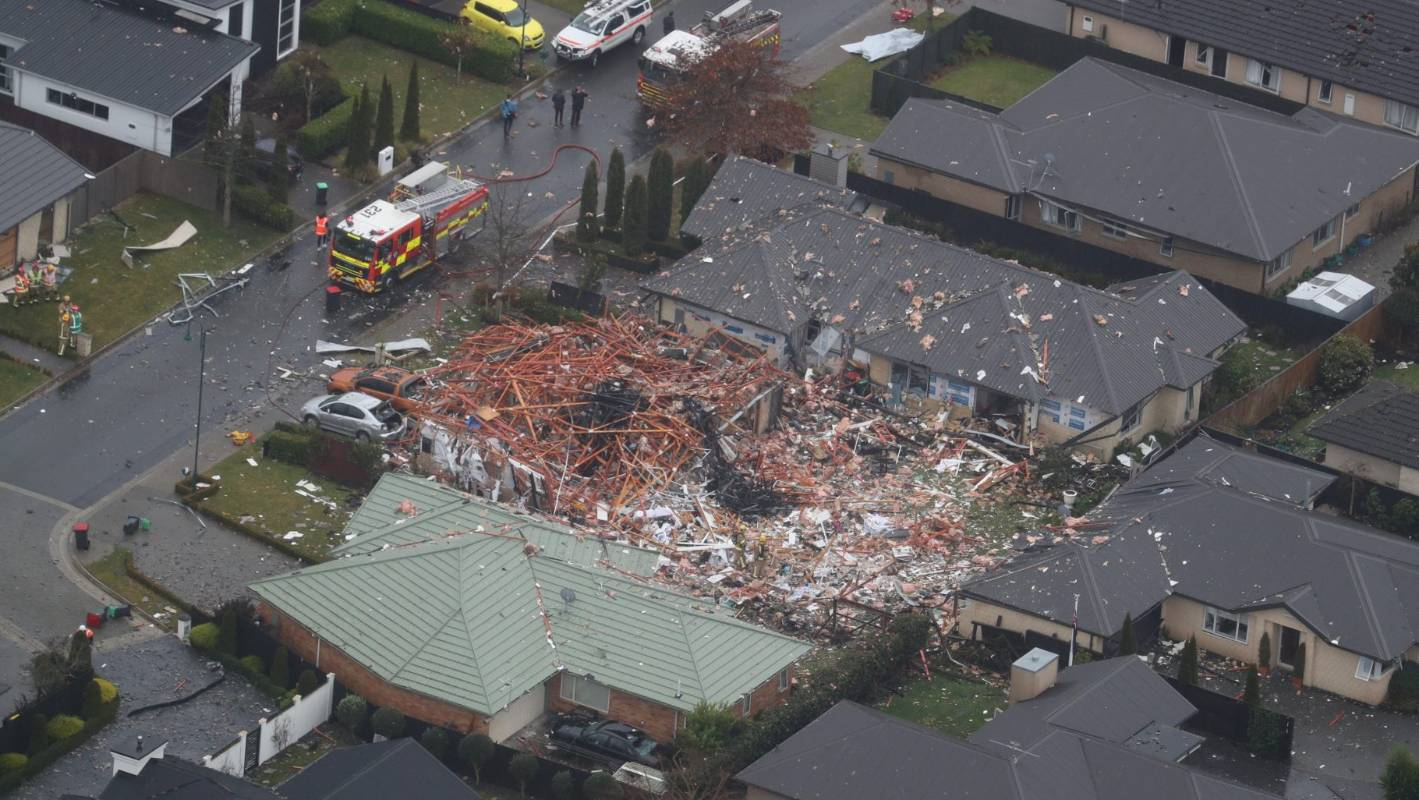 Christchurch explosion: House blast registers as magnitude 2.0 quake