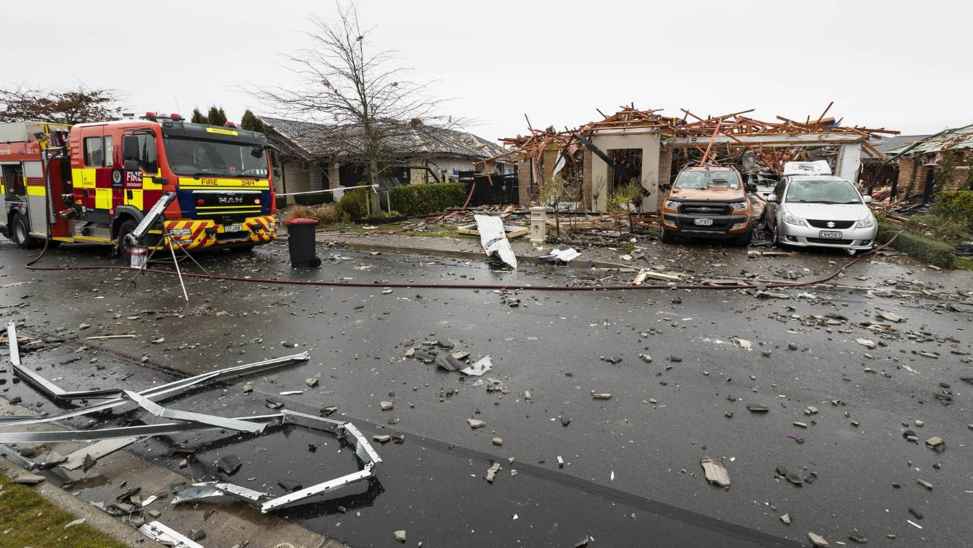 Christchurch explosion: Gas fire repaired day before blast wrecked house