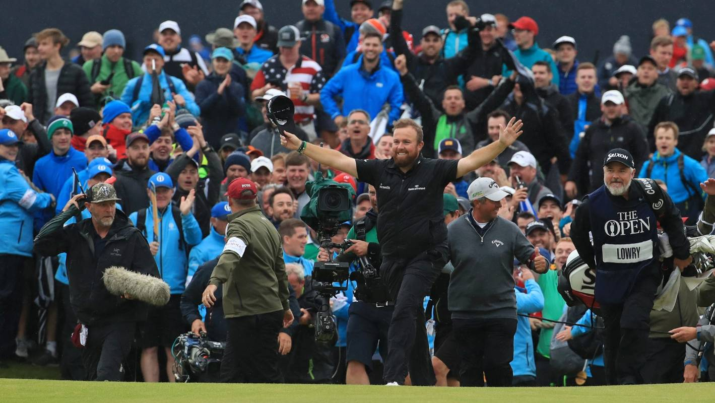 Ireland's Shane Lowry wins British Open in celebrated return to Emerald Isle
