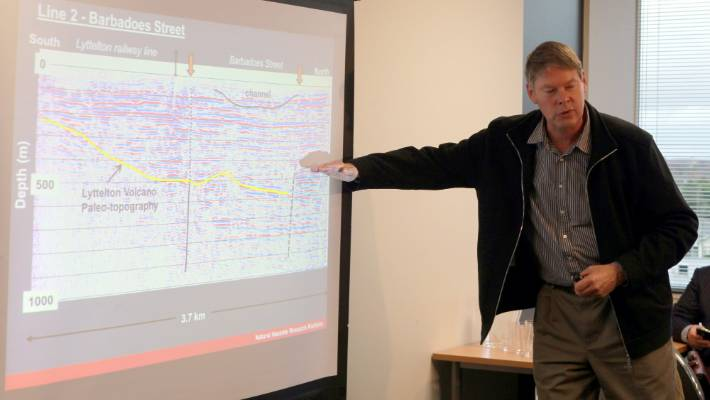 Fault under Christchurch sparks up and generates city's