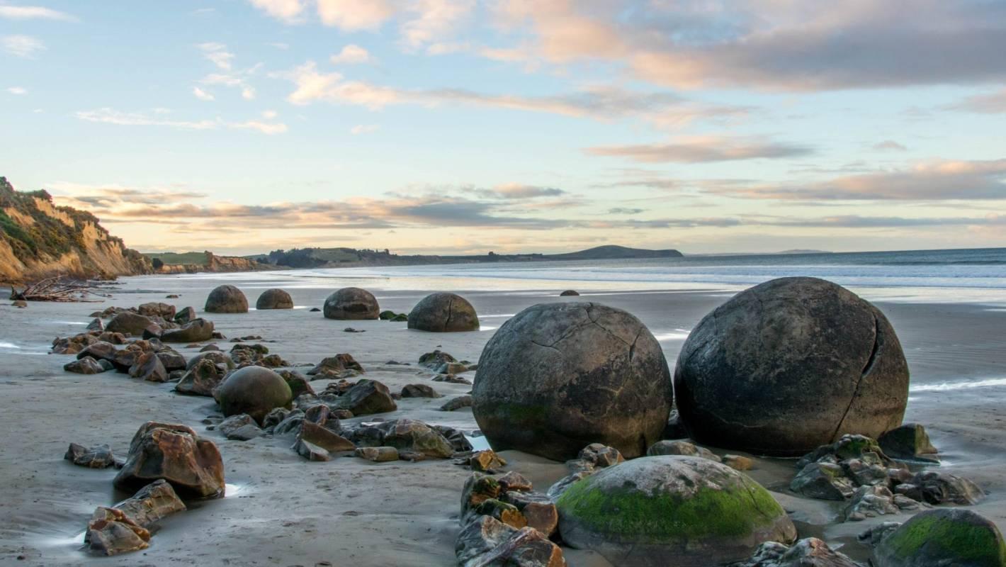 Koekohe Beach in Moeraki is rated one of the top 50 best beaches worldwide    Stuff.co.nz