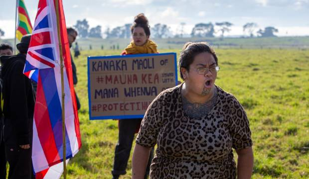 Ihumātao protesters shut out of government talks