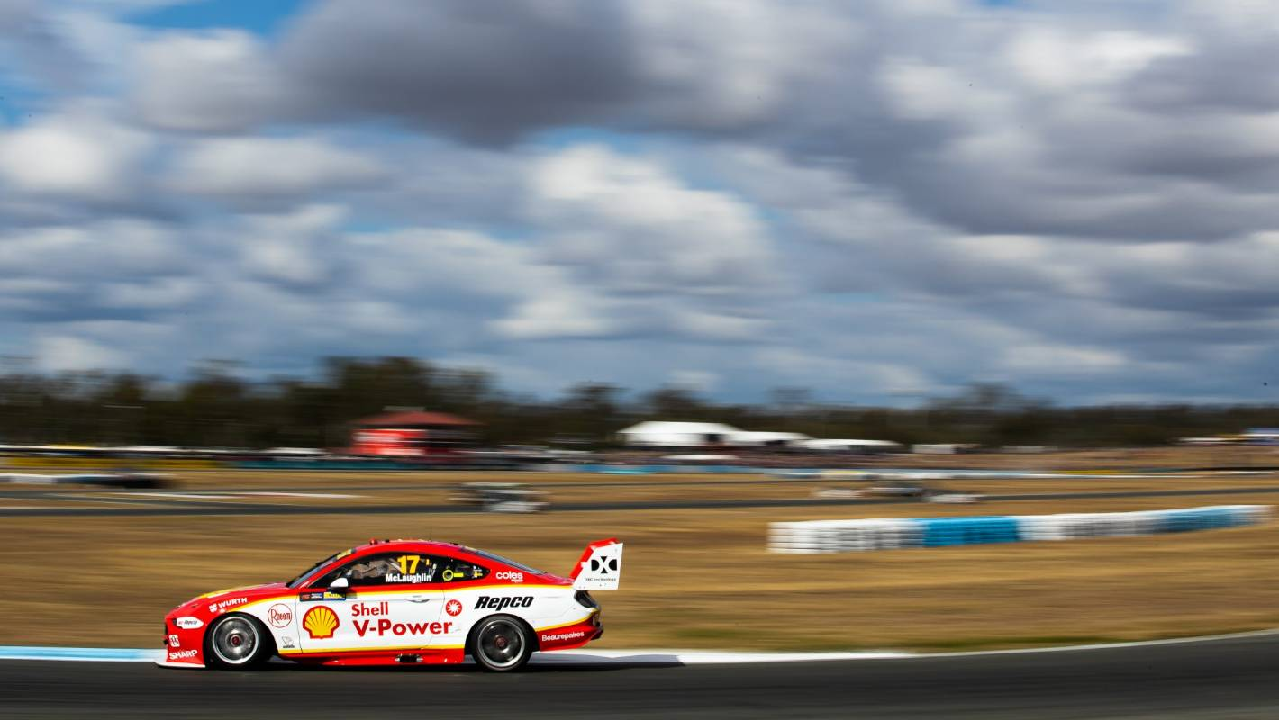 Supercars: Scott McLaughlin brings up century of poles for his DJR team