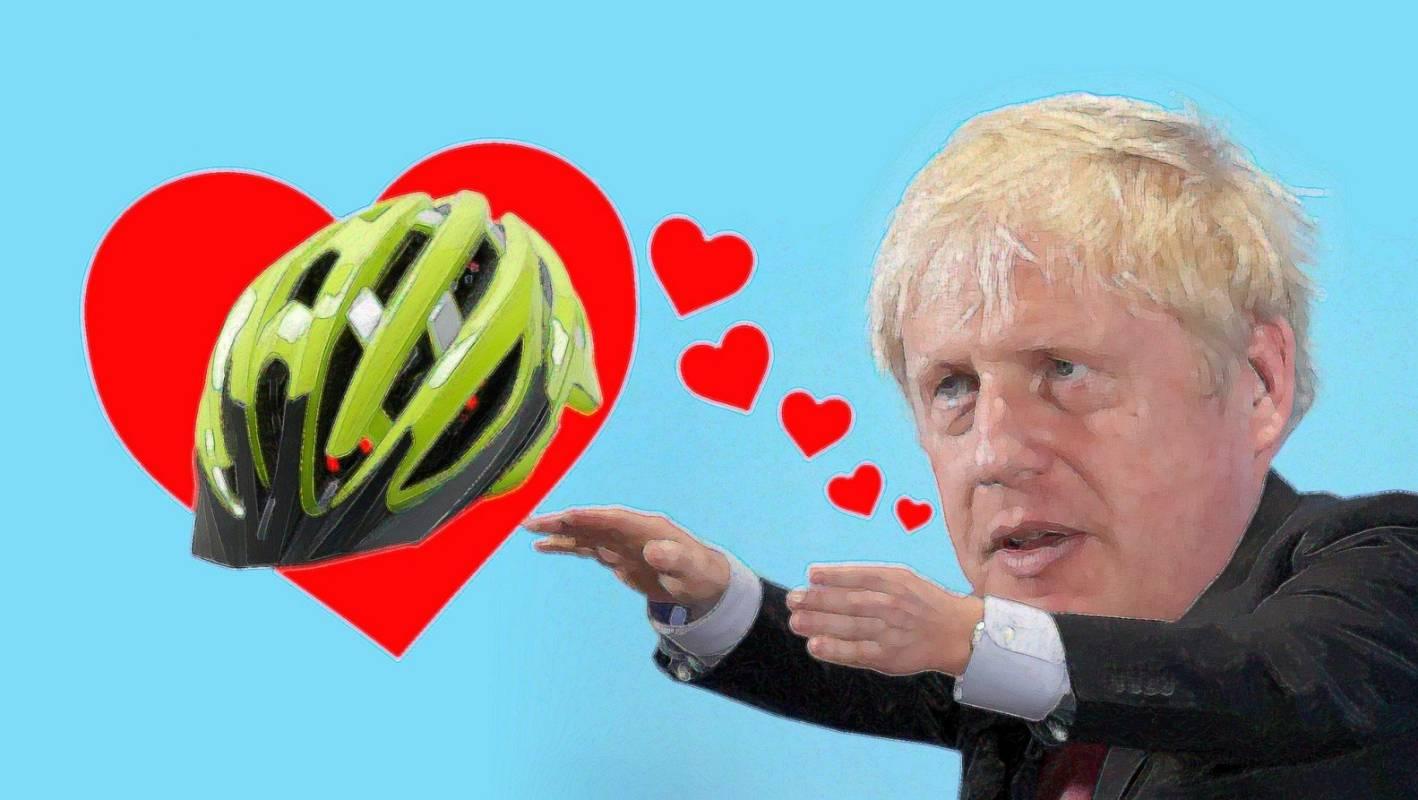 Boris Johnson S Favourite Thing His Bike Helmet Stuff Co Nz