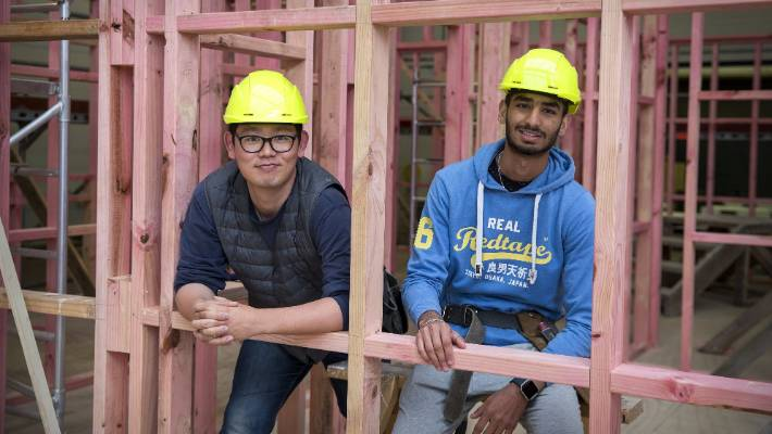 International students drawn to UCOL construction and architecture