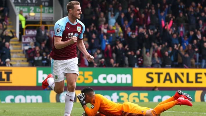 Premier League: Chris Wood grabs hat-trick in big Burnley