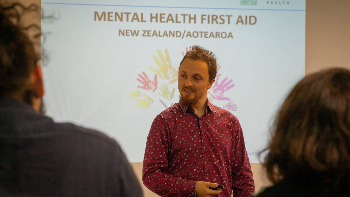 First aid workshops help unmask the pain of mental health | Stuff co nz