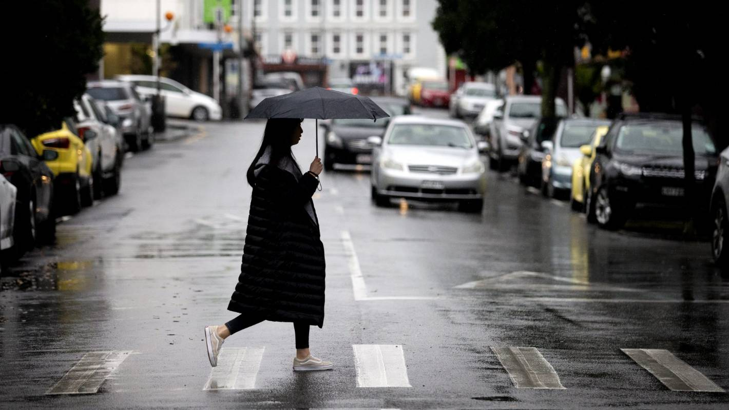 It's going to be a wet and windy weekend across most of New Zealand