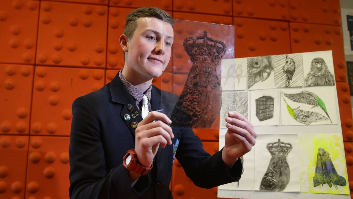 Central Southland College student wins ILT Young Artist of the Year
