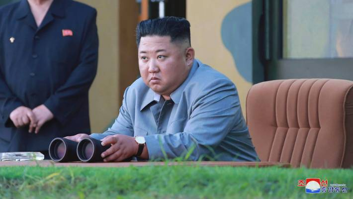 North Korea fires two missiles into the sea in likely protest