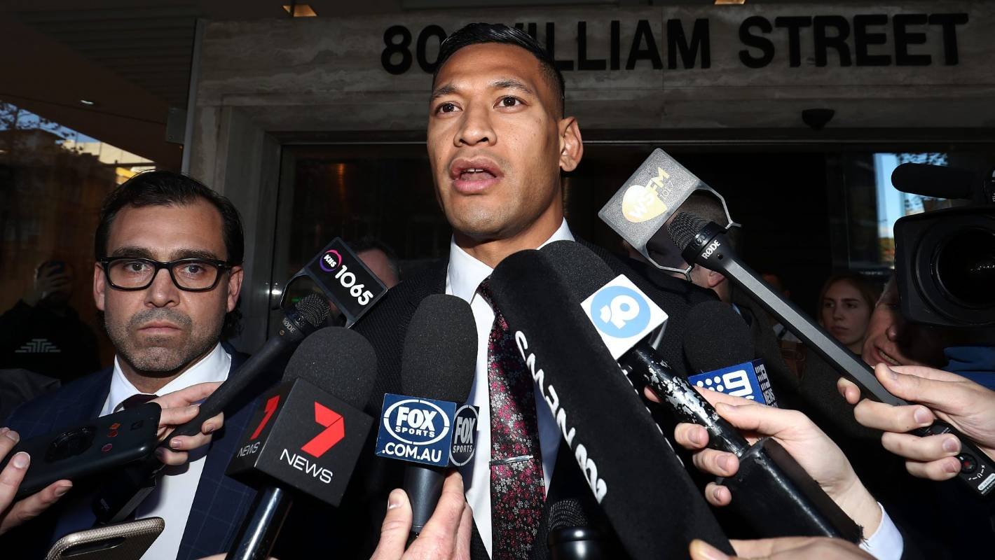 Intrigue and legal strategy on eve of Israel Folau's court case with Rugby Australia