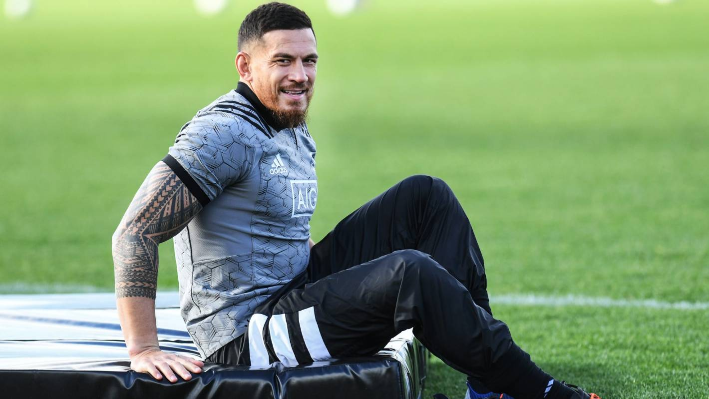 Bledisloe Cup: All Black Sonny Bill Williams has rediscovered his love for rugby