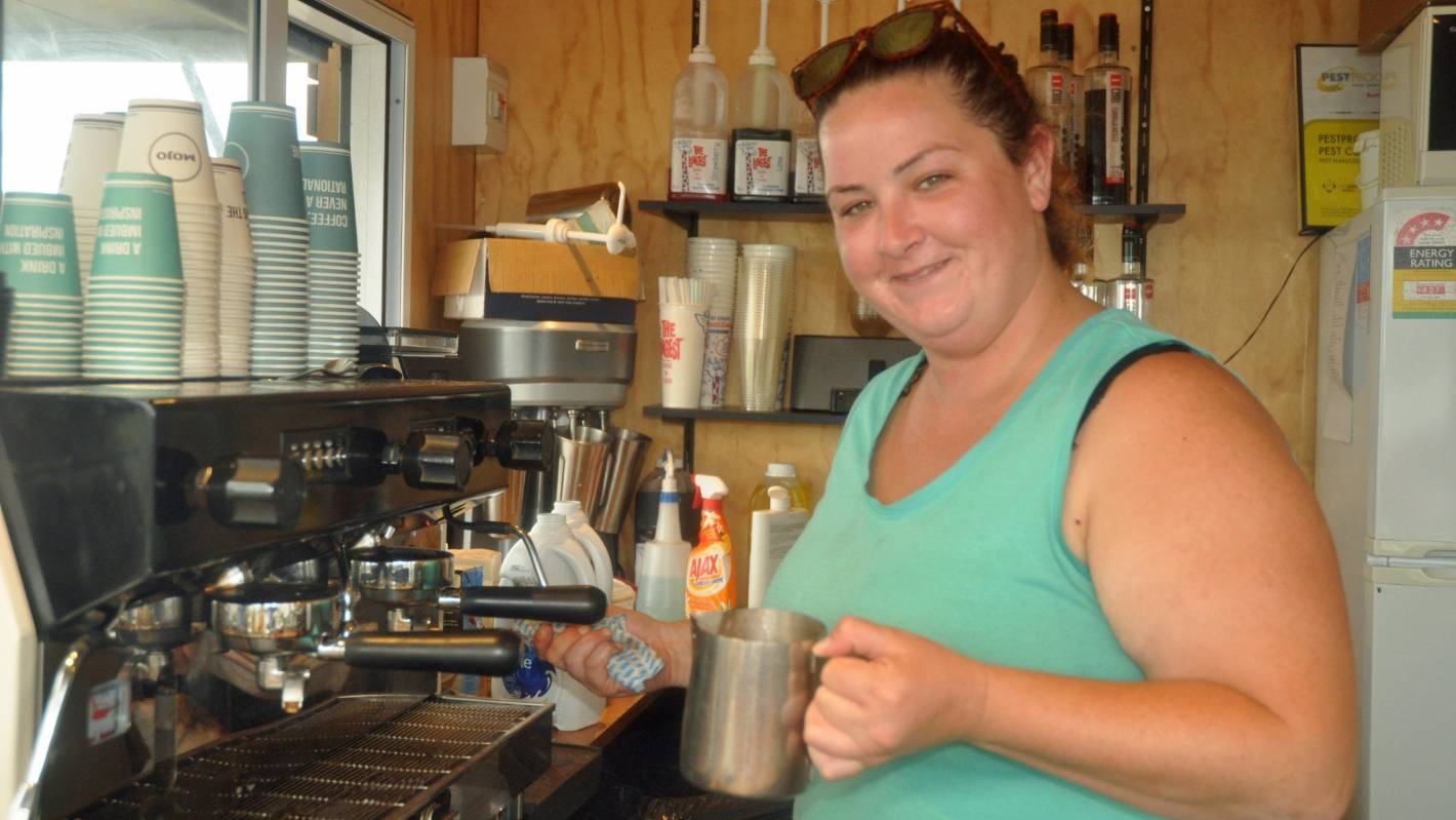 Barista fired for swearing in front of customers, or was in friendly banter?