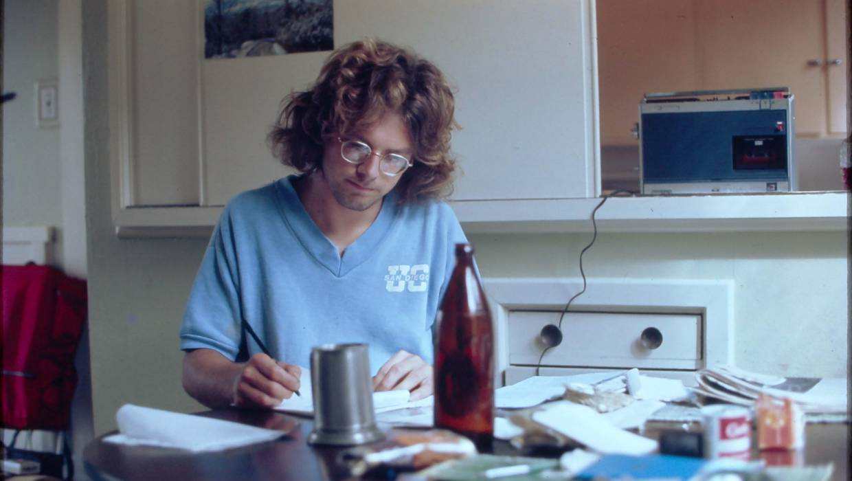 American scientist Peter Gunther, who worked with Lowe at Baring Head throughout the 70s.
