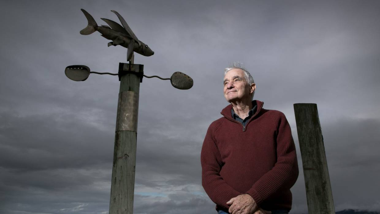 Dave Lowe has retired and now lives in Petone. He's still active in the climate science community and lives a low-emissions lifestyle. — Photograph: Ross Giblin.