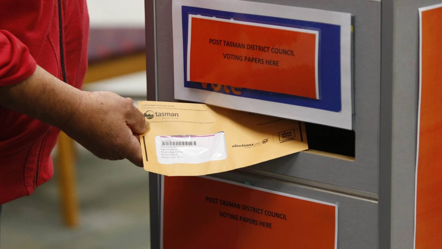 Electors urged to vote in Tasman District Council electoral system poll