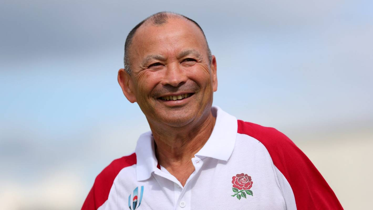 Eddie Jones quips referee 'should have got a yellow card' for Wales' match winning try