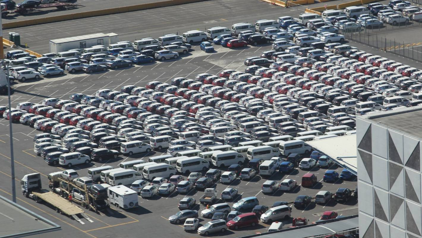 Marsden Point pitches for vehicle import trade