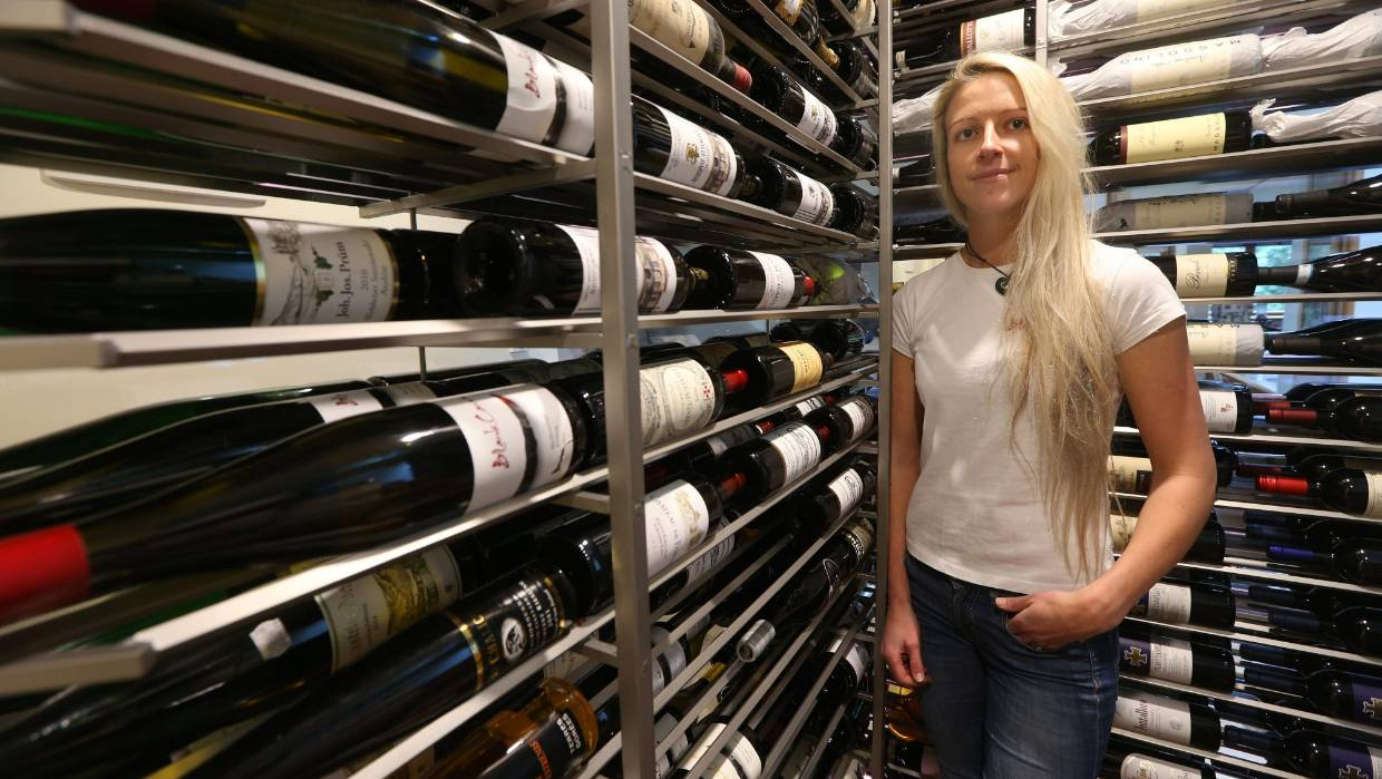 Wine Cellar Goals Two Thousand Bottles Of Wine On The Wall Stuff Co Nz