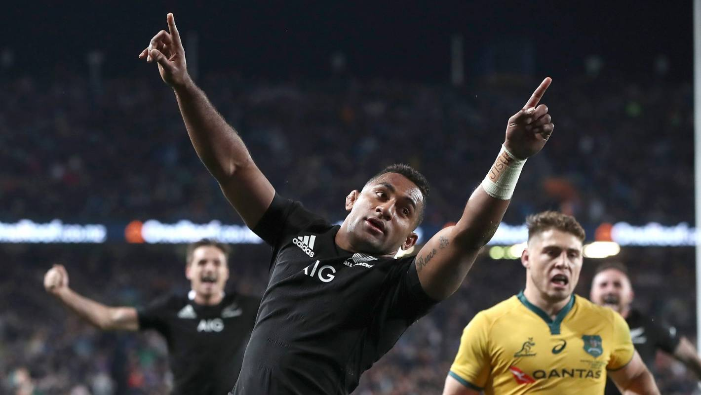 Rugby World Cup: Mentors not surprised as Sevu Reece shines bright for All Blacks