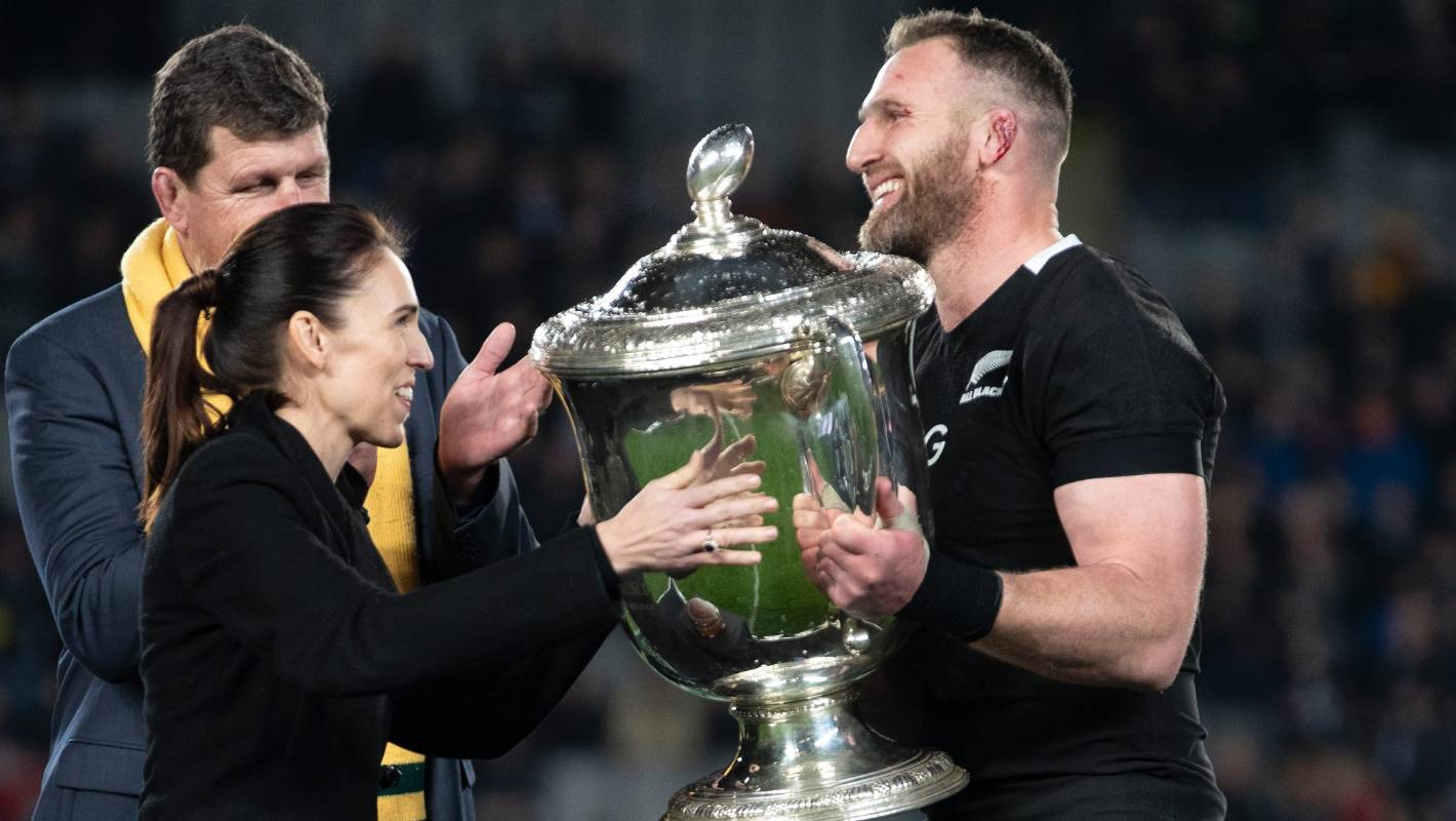 Bledisloe Cup: Jacinda Ardern wins 'little wager' over Scott Morrison
