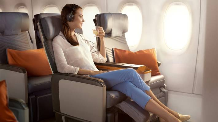 Creature comforts of Singapore Airlines A350-900 winging its way to ...