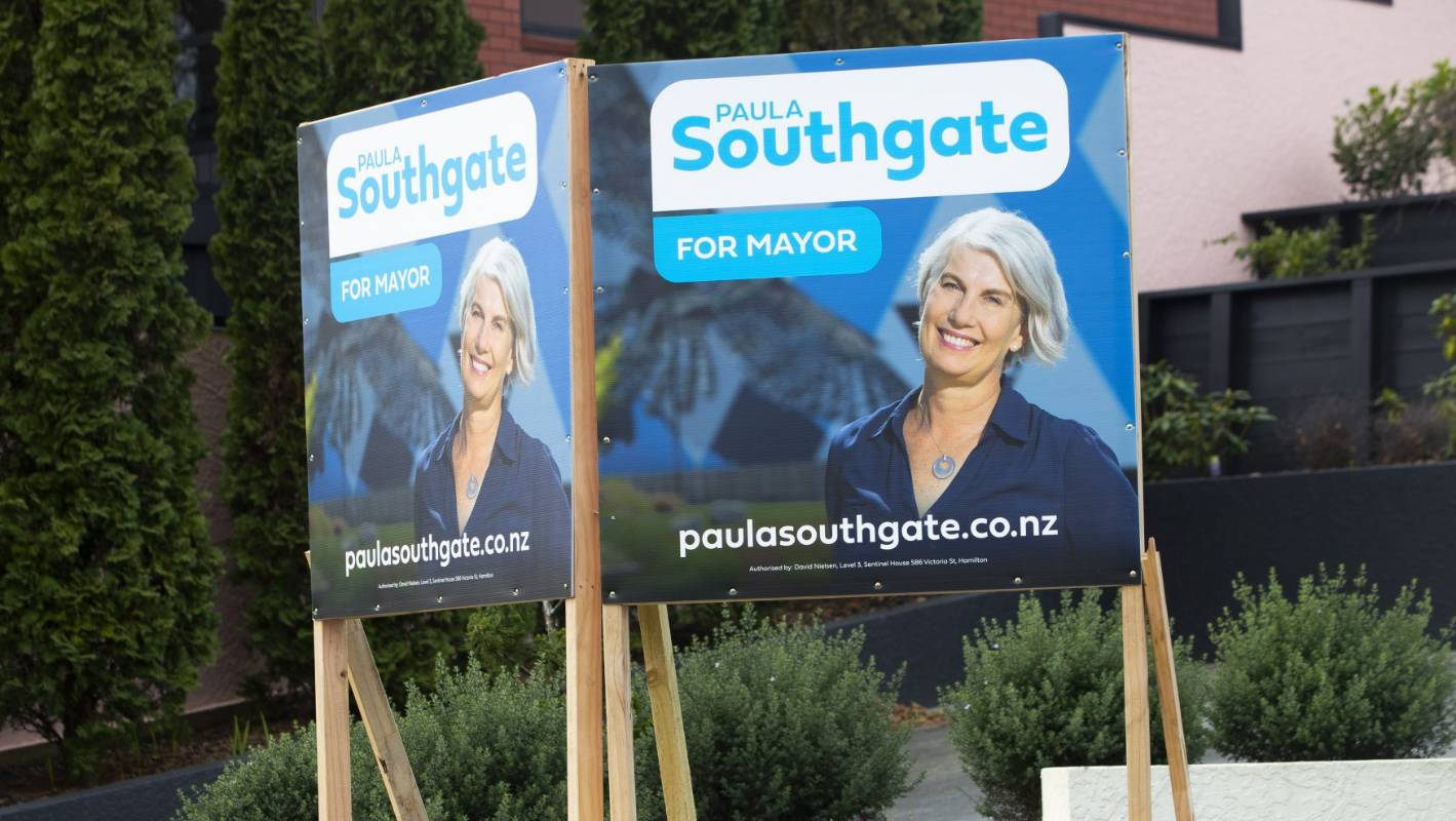 Hamilton mayoral candidates Paula Southgate, Andrew King pin hopes on mayoralty