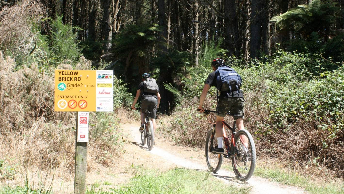 Rotorua's mountain bike trails among 'best of the best'