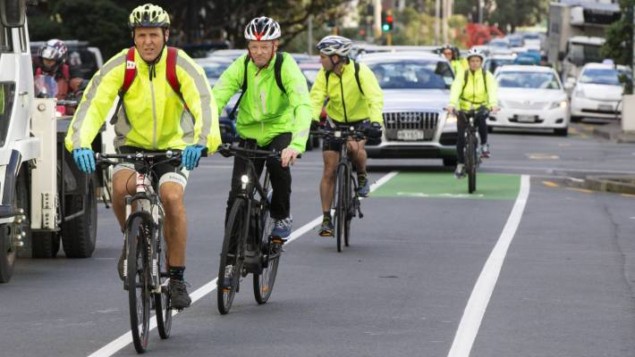 The Government says its putting a bigger focus on walking and cycling now.
