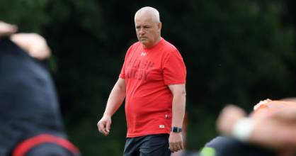 Warren Gatland overseeing Wales' Rugby World Cup build-up.