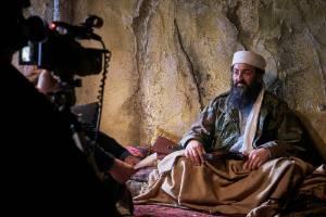Australian actor George Kanaan delivers an impressive performance as Osama Bin Laden in A War Story.