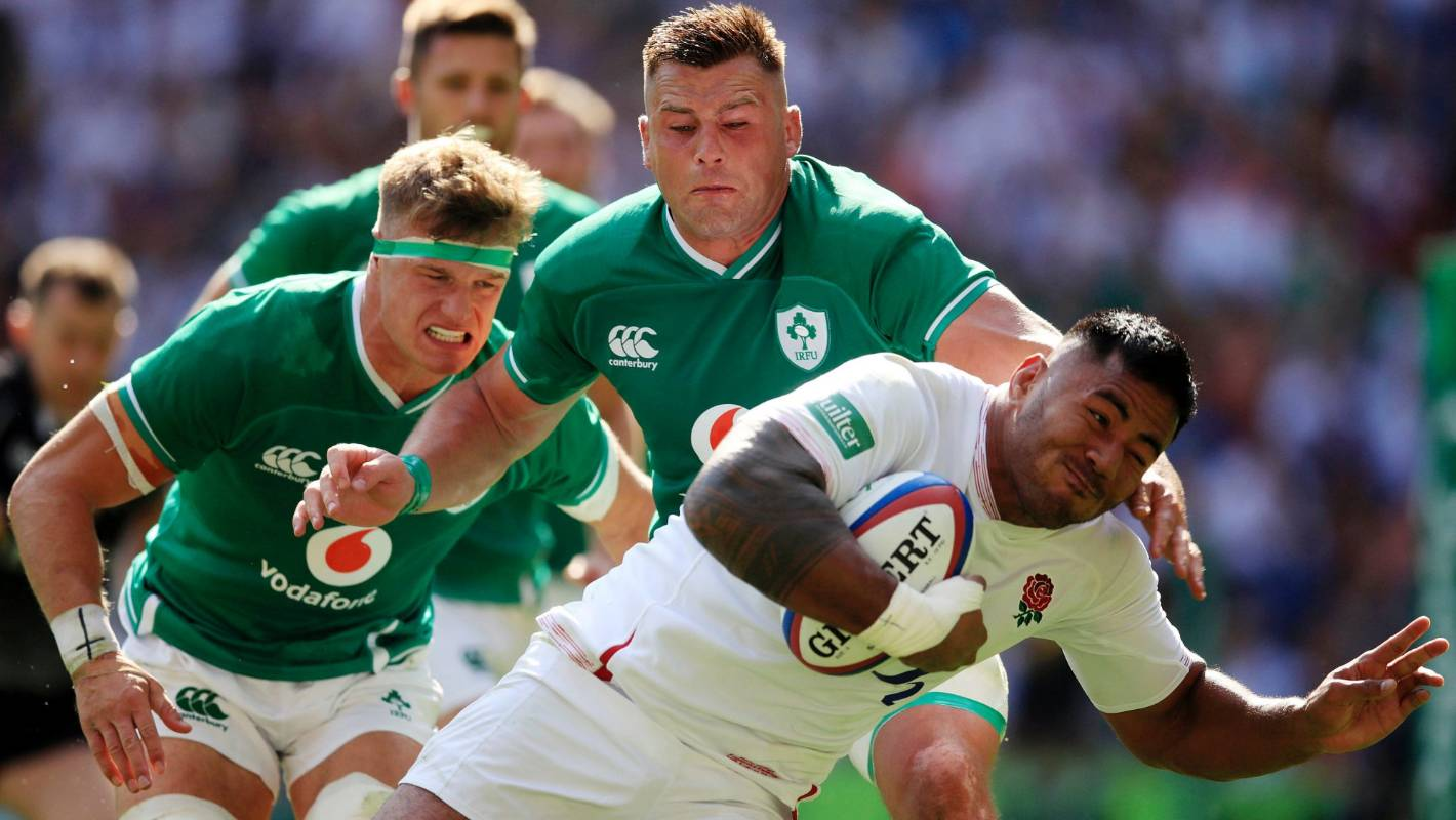 Rugby World Cup 2019: England sound warning with massive win over Ireland