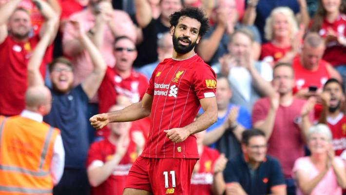 meet 96552 2238d Premier League: Mohamed Salah double helps Liverpool to ...