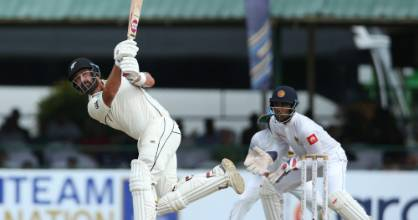 Colin de Grandhomme's hitting power put the Black Caps in the box seat on day four.