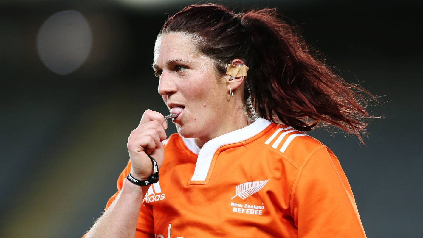 Rugby referee Rebecca Mahoney still blazing a trail with Mitre 10 Cup assignment