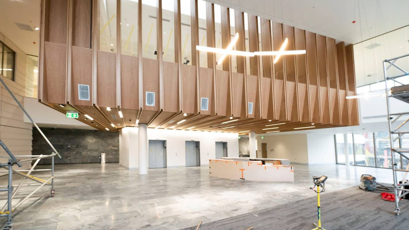 Open days at Christchurch Hospital building delayed as building work incomplete