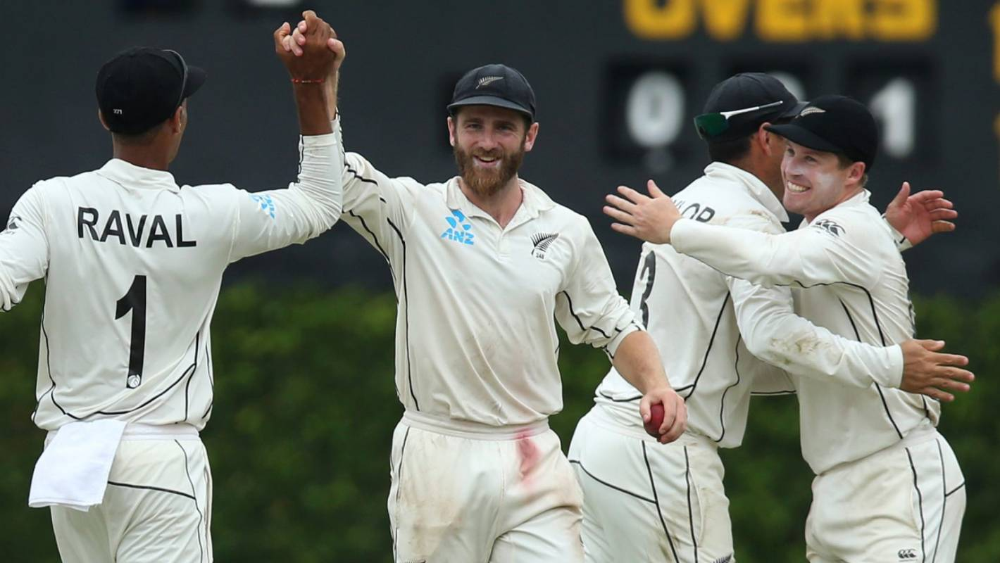 Kane Williamson shares the glory as Black Caps square test series in Sri Lanka