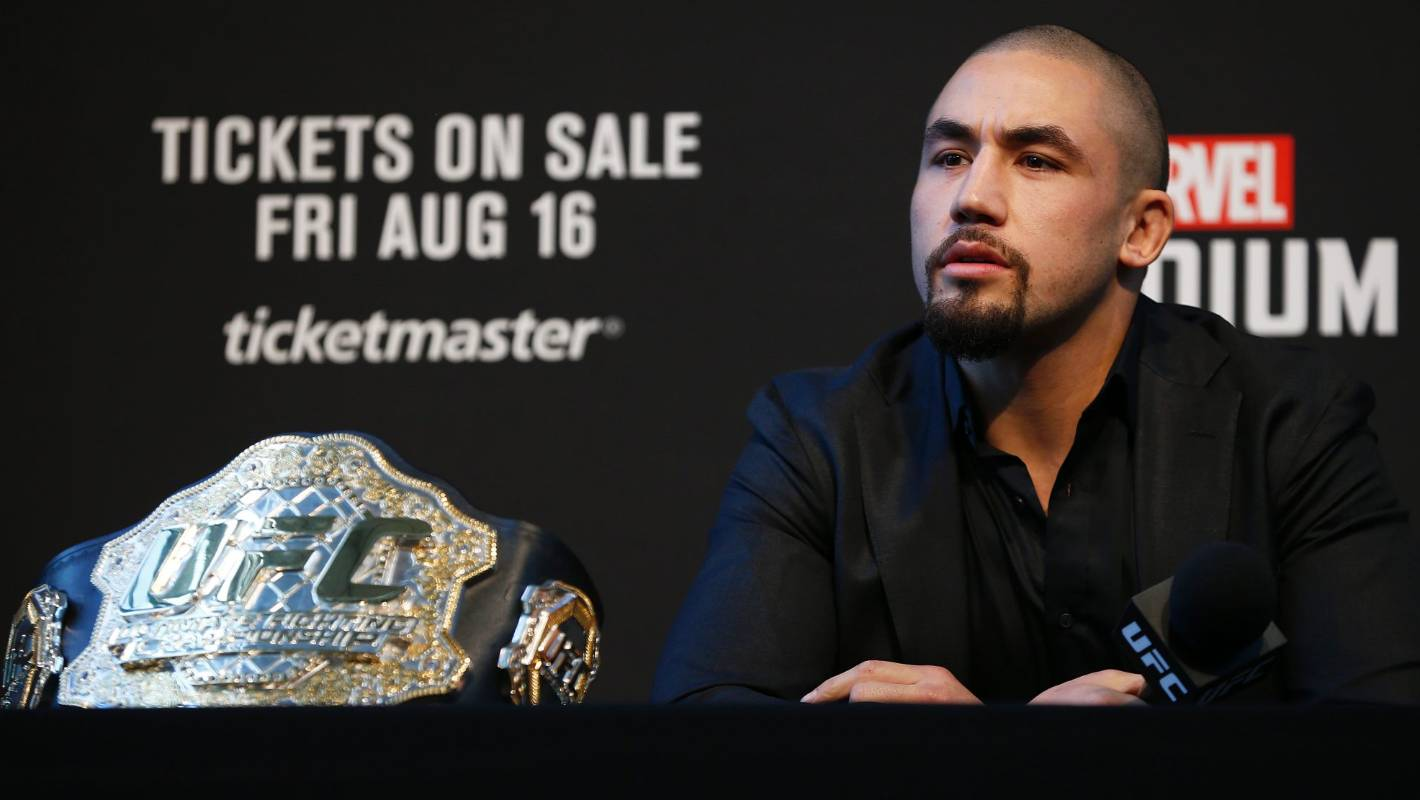 Middleweight champ Robert Whittaker opens up on depression after UFC 234 withdrawal