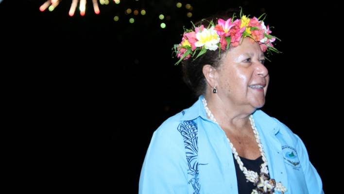 Dame Meg Taylor is the Secretary General for the Pacific Islands Forum.