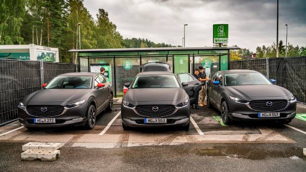 We drive Mazda's first-ever electric vehicle | Stuff co nz
