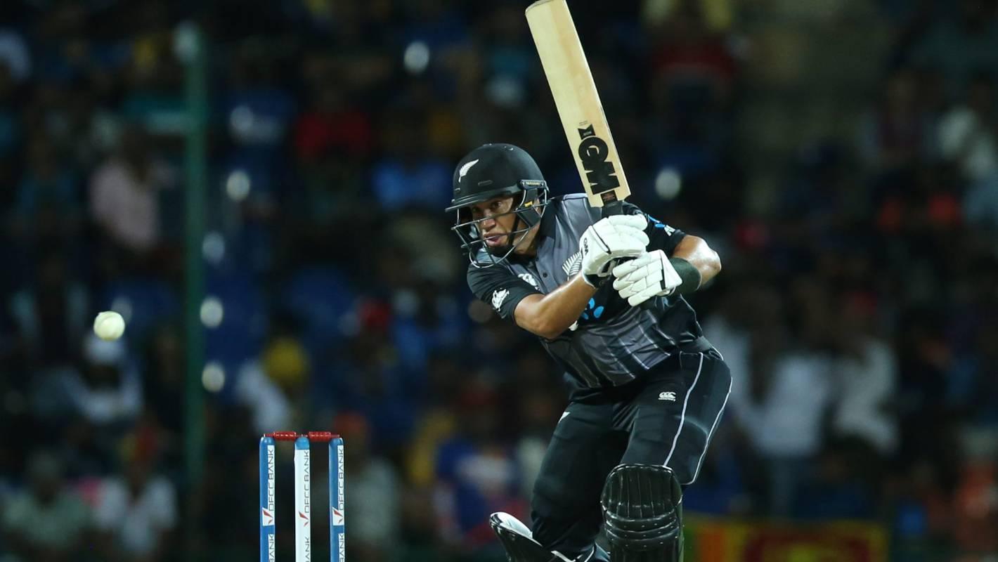 Black Caps v Sri Lanka: Ross Taylor winds it back as vital Twenty20 finisher