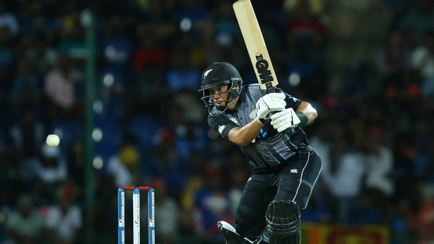 Black Caps v Sri Lanka: Ross Taylor's journey to invaluable T20 middle order bat