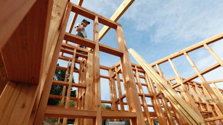 Home construction in Auckland is exceeding forecasts, especially for multi-unit blocks